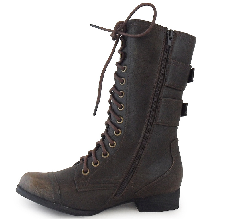 Lastest Womens Shoes UGG Australia FABRICE 1001267 Combat Boots Leather Stout Brown | EBay